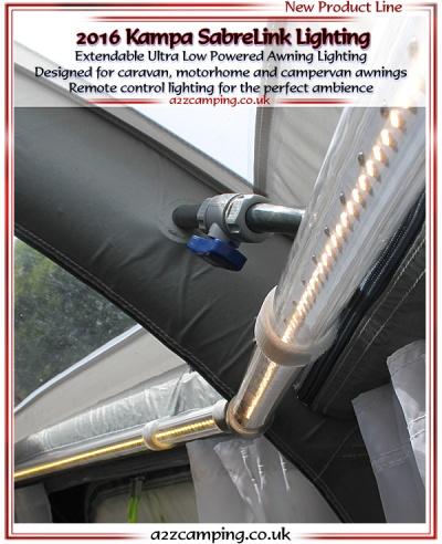Kampa Sabre Link Awning Amp Tent Lighting Kit A2zcamping Co Uk